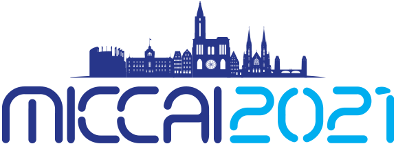 The logo for the 2021 medical image computing and computer assisted interventions (MICCAI) conference